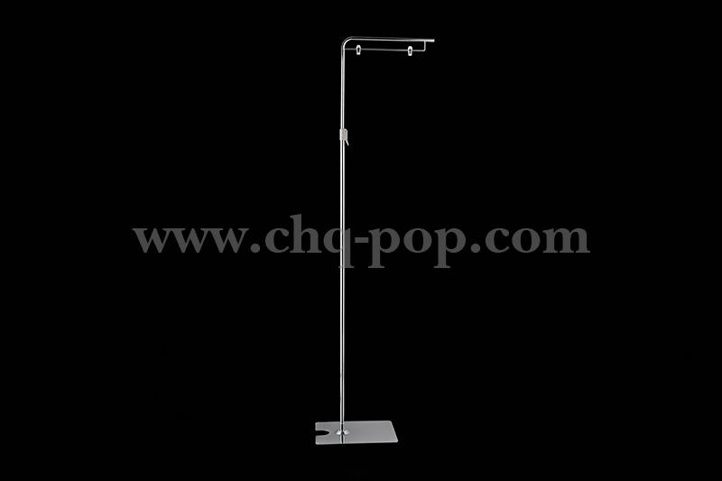 Floor-standing POP advertising display stand series P1