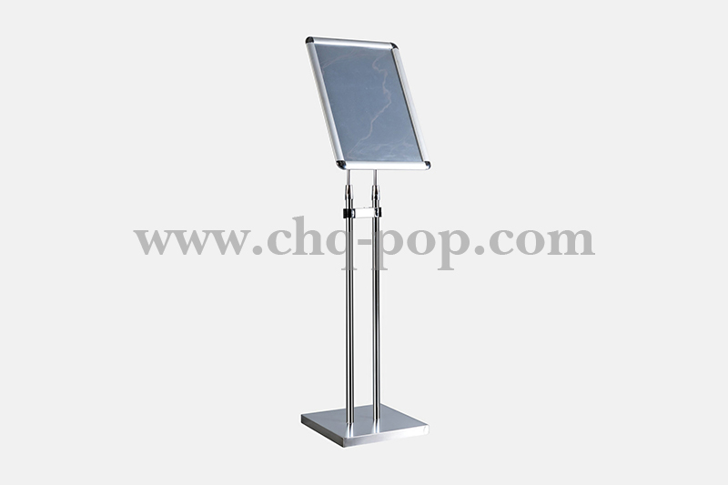 Floor-standing POP advertising display stand series P15