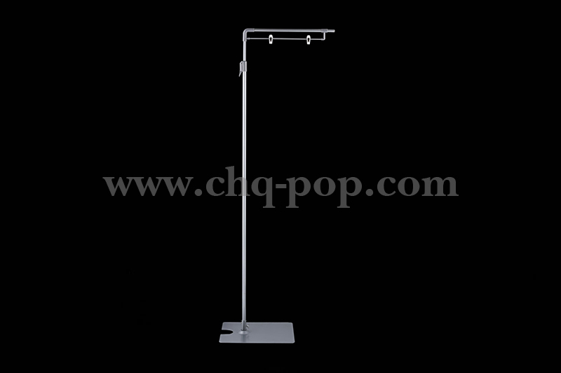 Floor-standing POP advertising display stand series P8
